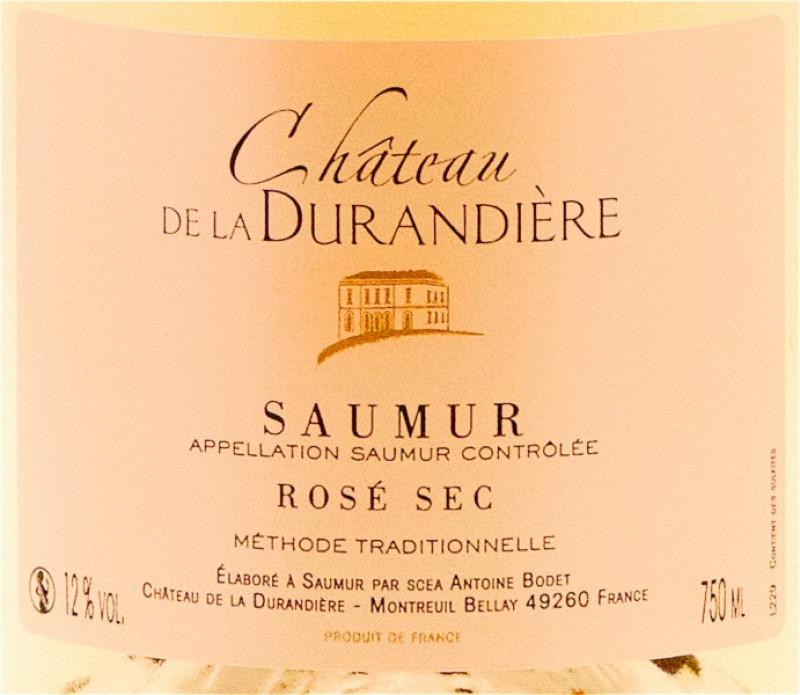 Saumur Rosé, méthode traditionelle